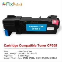 Catridge Compatible Fuji Xerox CP305d Cyan