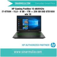 HP Gaming Pavilion i7-9750H -8 GB - 1TB + 256 GB SSD GTX1650