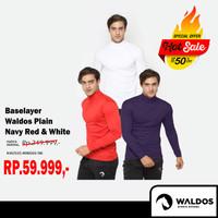 Promo Waldos Baselayer polos / Swimming / Diving / Training - Hitam, L