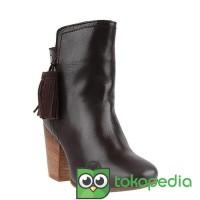 LOVA - Sepatu Boots Wanita Genuine Leather Hush Puppies