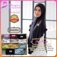 Bergo Aisy by AMILY - Khimar Instan Syari Kualitas Premium