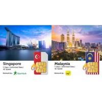 PROMO Sim Card Singapore & Malaysia 5 Hari Termurah