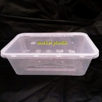 Thinwall AECO S 750ML@25PCS/box makanan/kotak makan microwafe