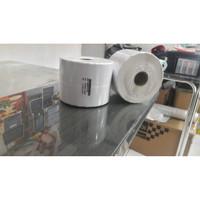 Label barcode semicoat 33x15 2 line