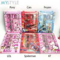 Paket Alat Tulis Anak 6 in 1 Stationery Set