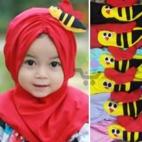 jilbab bayi lebah nemplok