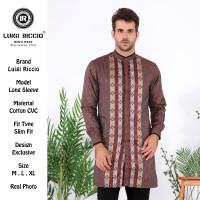 Baju Koko/ Baju Muslim/ Gamis Pria Pakistan/ Baju Gamis Luigi Riccio