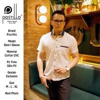 Kemeja Pria/ Kemeja Cowok/ Kemeja Kasual Slimfit by Postillo