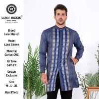 Baju Muslim/ Baju Koko/ Baju Gamis/ Gamis Pria Pakistan Luigi Riccio