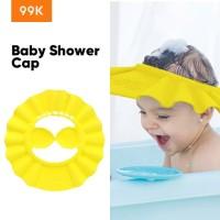 99K Topi Keramas Anak Bayi Pelindung Mata Kids Shower Cap