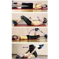 Tali Bantu Gym Yoga Gym Pilates Stretch Rope Karet Lentur Peregangan