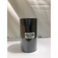 RIBBON BARCODE WAX RESIN 110 MM X 300 METER