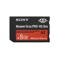Memory Card Sony PSP 8 GB / Memory Stick Pro HG Duo