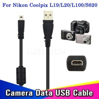 USB Cable Data 8 Pin Cable 1.5M for Nikon Olympus Pentax Sony Panasoni