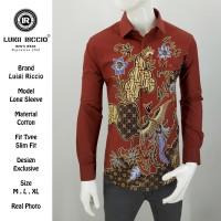 Baju Batik Pria Formal Luigi Riccio