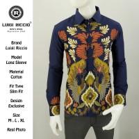 Baju Batik Luigi Riccio Full Katun Design Terlaris