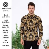 Baju Batik Pria Modern Luigi Riccio