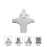 iDragon / Flashdisk / 4in1 Type C - Lightning - Micro USB 64GB