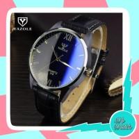 Yazole 318 Jam Tangan Pria Original Business Quartz