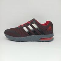 Sepatu Adidas Galaxy Tabung Import Premium Hitam Pria Abu Merah Murah