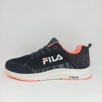 Sepatu Fila Running Wanita Cewek Lari Joging Olahraga Tenis