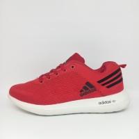 Sepatu Adidas Running Merah Maron Grade Original Pria Wanita Dewasa