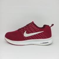 Sepatu Nike Zoom Pegasus Grade Original Merah Pria Wanita Running