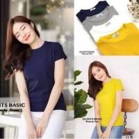 Damai fashion jakarta - baju atasan basic wanita GIANTS - konveksi baj