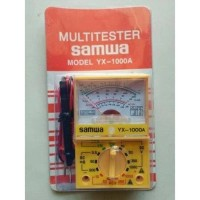 MULTITESTER SAMWA YX-1000A Multi Tester Analog Manual