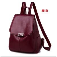 Tas ransel import wanita Backpack punggung Sekolah Kuliah Kerja 151
