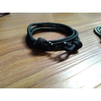 GELANG PRIA TALI PARACORD TALI PRUSIK LOOP STYLE WITH CLIP 03