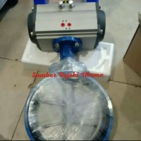 """Butterfly Valve Actuator Pneumatic 11/2""""inch."""