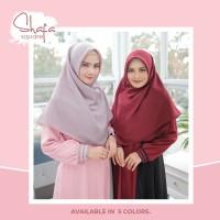 Jilbab Salvina Hijab Shafa Jilbab Segi Empat Bolak Balik
