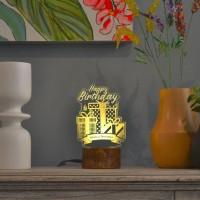 Hadiah Ulang Tahun Dreamlight Birthday - Lampu Tidur Akrilik