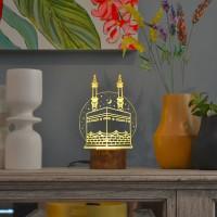 Lampu Akrilik Dreamlight Makkah Treavelling Series