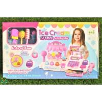 5929 / 30 Mainan Anak Mainan Edukasi Edukatif Cash Register Ice Cream