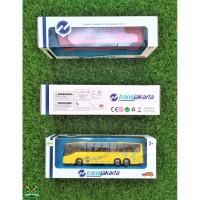 8070 – 30 Miniatur Bis Transjakarta / Mainan Anak Diecast / Koleksi