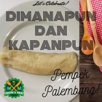 Pempek Palembang Garuda panjang besar, Makanan Ringan, Snack, Keripik,