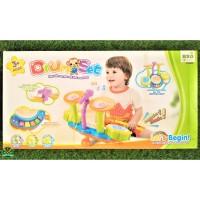 CY 6002 B Mainan Anak Drum Set Original Mainan Edukasi Mainan Musik