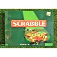 55065 Scrabble Original Mainan Anak Edukasi Puzzle Board Game Edukatif