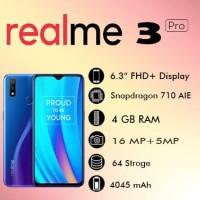 REALME 3 PRO 4/64 GB RAM 4GB ROM 64GB Garansi Resmi Realme (Oppo)