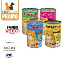Profelin Kaleng 400gr Makanan Kucing Basah / Profelin Wetfood / Profel