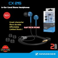Sennheiser CX 215 / CX215 In-Ear Canal Stereo Headphones Original