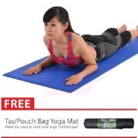 Bonus Tas Sarungmatras Yoga Yoga Mat - Softpink TERMURAH