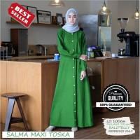Gamis Syari Hijab Putih Polos MAXMARA Setelan Haji Umrah Berkualitas