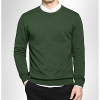sweater rajut pria o neck