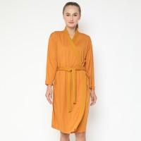 Maison Elmesa Nursing Robe - Honey Mustard
