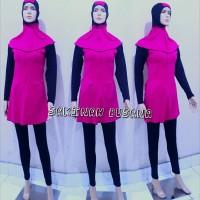 baju renang wanita muslimah dewasa dan remaja warna biru