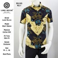 Batik Pria Premium Terbaru dan Terlaris 2019 Luigi Riccio