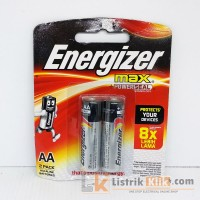 ENERGIZER MAX BATTERY AA 2 PACK (ISI 2)